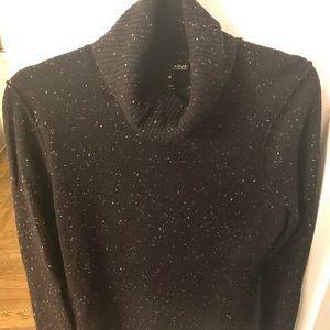 Aqua Cashmere Sweater, Size M